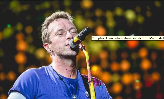 COLDPLAY: KONCERTI NE STREAMING I CHRIS MARTIN NGA SHTEPIA